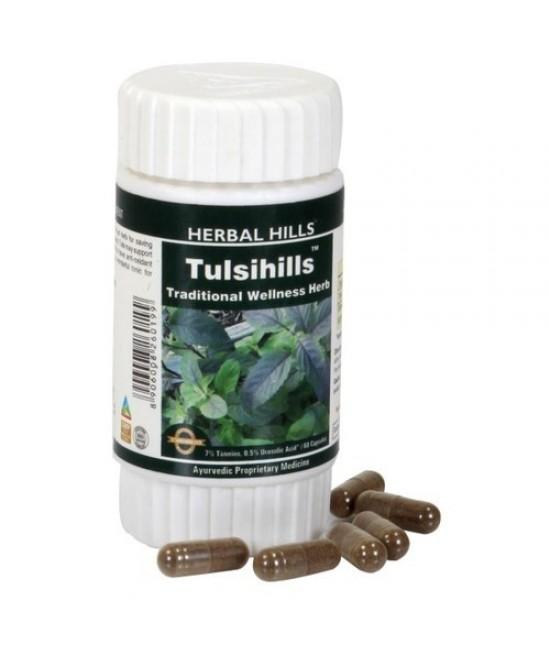 Tulsihills 60 Capsule - Ayurvedic Tulsi