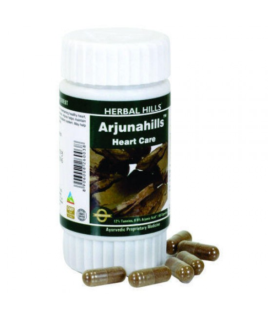 Arjunahills 60 Heart Care Capsules