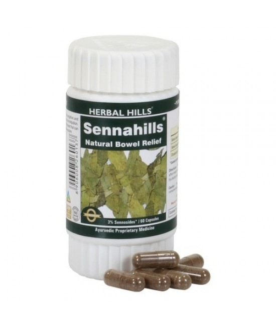 Sennahills - 60 Capsules - For Healthy Detoxification