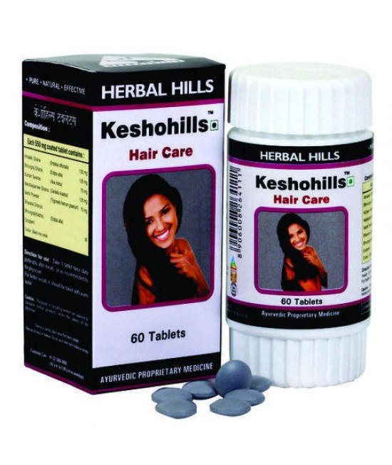 Keshohills- Herbal Hair Care Formula - 60 Tablets